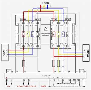 Collection Of Generator Automatic Transfer Switch Wiring