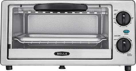 What Is The Best Toaster Oven To Purchase - 4 slice toaster oven black silver bla14413 best buy