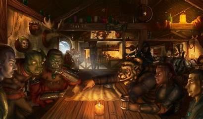 Wallpapers Place Tavern Fantasy Backgrounds Background Desktop