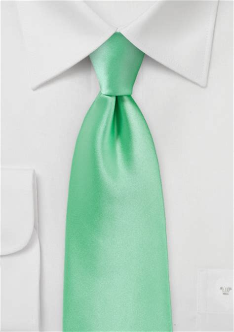shiny mint colored necktie bows  tiescom