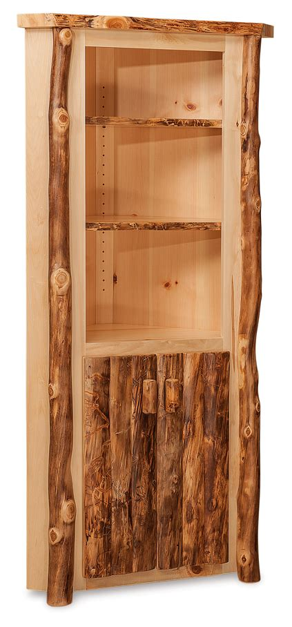 fireside rustic small corner cabinet amish furniture factory