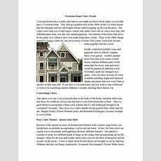 Victorian Home Color Trends By Home Remodeling Trends  Issuu