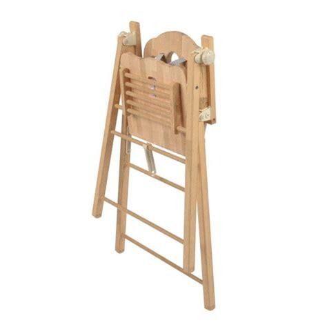 chaise haute pliante b b chaise haute bois pliante mzaol 28 images chaise haute