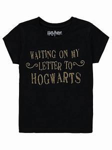 Harry potter hogwarts letter t shirt kids george at asda for Hogwarts letter shirt