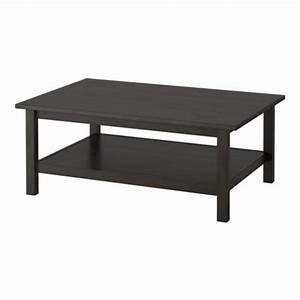 Ikea Table Basse : hemnes table basse brun noir ikea ~ Teatrodelosmanantiales.com Idées de Décoration