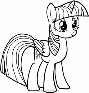 Twilight Sparkle Of My Little Pony Coloring Pages
