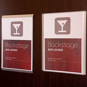 Plaques De Portes : plaques de porte votre plaque de porte gamme flat ~ Melissatoandfro.com Idées de Décoration