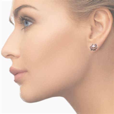 Sudraba auskari Ar pērlēm - 57074061 | VIGORIUS