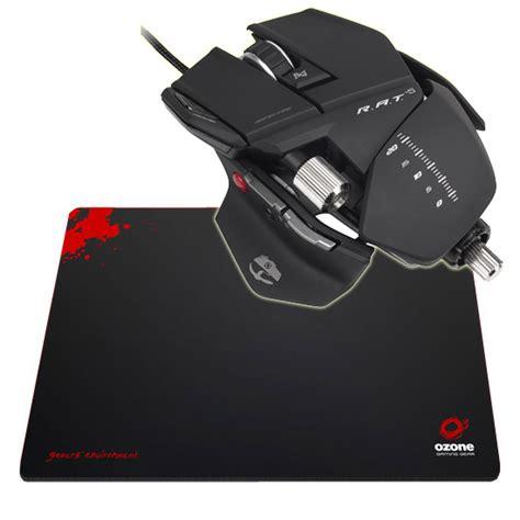 tapis de souris pour souris laser cyborg r a t 5 ozone ground level s souris pc cyborg sur ldlc