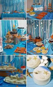 Beach theme birthday   party theme-ideas   Pinterest
