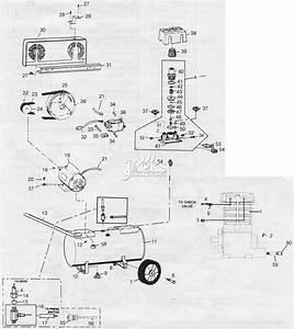 Campbell Hausfeld Vs401100 Parts Diagram For Air