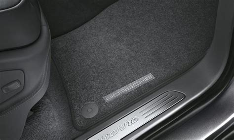 Porsche Cayenne Floor Mat by Porsche Cayenne Carpeted Floor Mats 4 Zone Ac