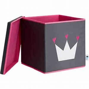 Ordnungsbox Mit Deckel : ordnungsbox mit deckel mdf grau mit wei er krone store it mytoys ~ Udekor.club Haus und Dekorationen