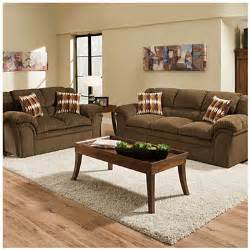 Simmons Sofas At Big Lots by Simmons Verona Chocolate Chenille Living Room Collection