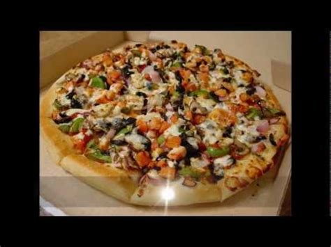 Veggie Lovers Pizza from Pizza Hut - Review - YouTube