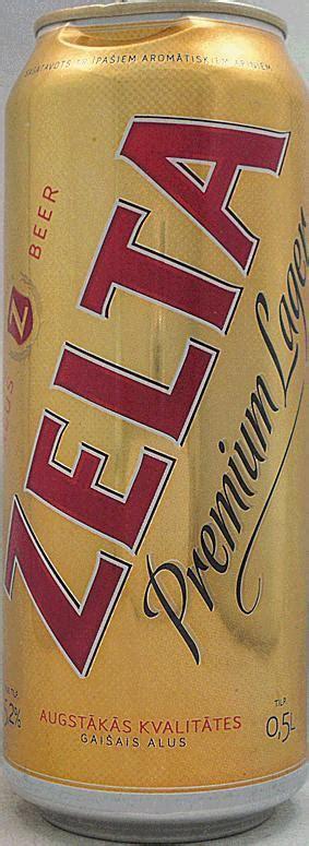 ZELTA-Beer-500mL-Latvia