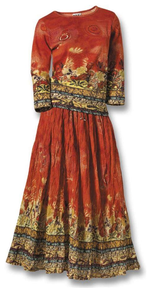 desert flame crinkle skirt southwest indian foundation