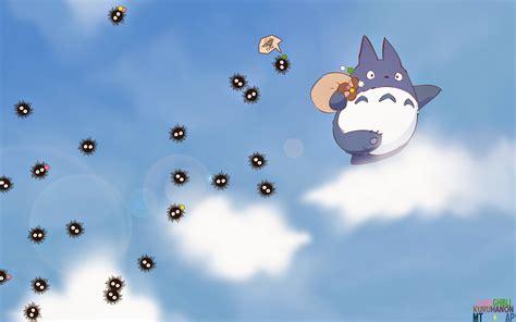 Miyazaki Spirited Away Wallpaper 魏 藍 的 天 空 龍貓
