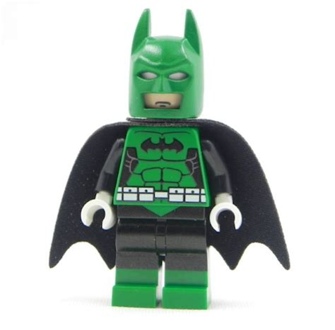 green lantern batman custom minifigure print on lego parts in darkest ebay