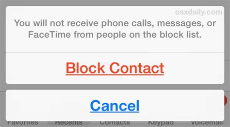 how to block on iphone how to block contacts from calling your iphone