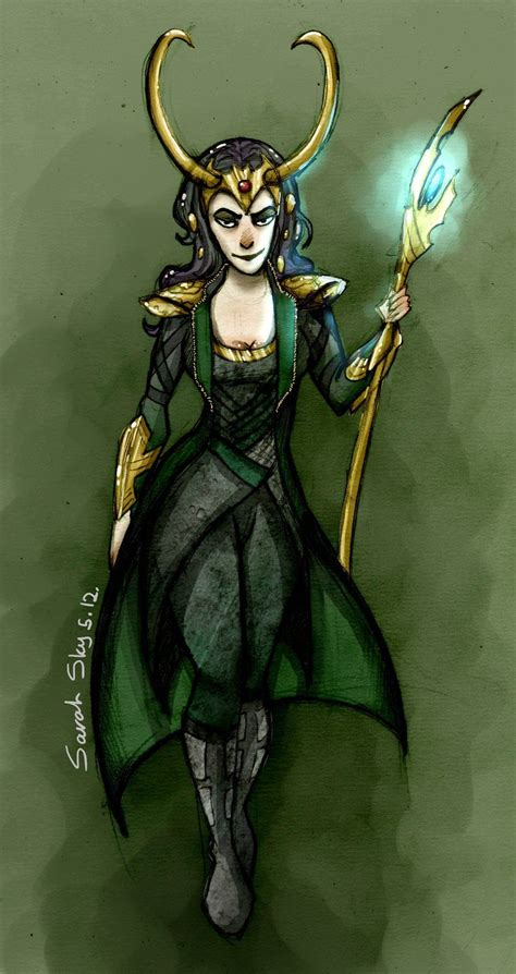 Lady Loki By ~sarah Sky On Deviantart Cosplay Lady