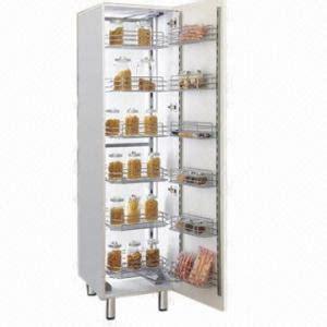 wire storage baskets for kitchen cabinets larder unit tall unit wire basket kitchen cabinet
