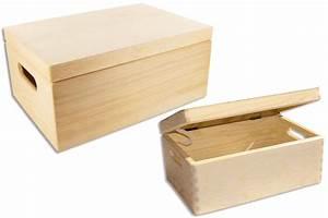Boite En Bois : bo te de rangement en bois bo tes et coffrets 10 doigts ~ Teatrodelosmanantiales.com Idées de Décoration