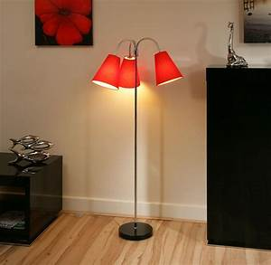 red floor lamp rooms with modern floor lamps that steal With shelf floor lamp with red shade