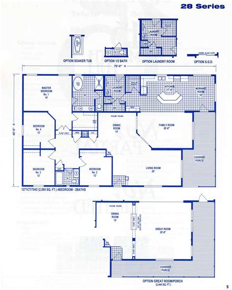 fleetwood mobile home floor plans  prices click   series   sq ft printable