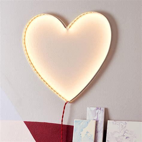 bolina heart wall light heart wall light by rawstudio notonthehighstreet com