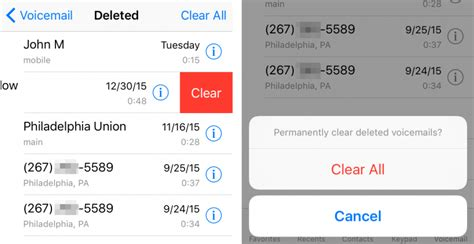 how to disable voicemail on iphone how to permanently delete iphone visual voicemails the 2595