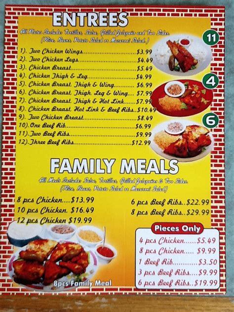 cuisine entree el pollo feliz menu