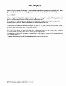 Pdf  Suzuki Apv Service Manual