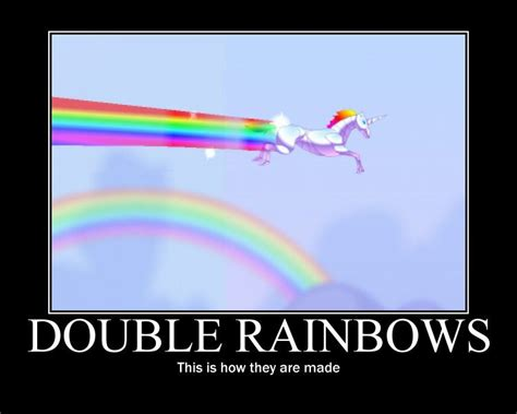 Internet Rainbow Meme - image 59346 double rainbow know your meme