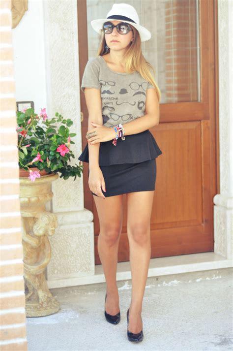 Outfit estate 2013 la gonna con peplo - Freaky Friday Fashion Blogger Sabrina Musco