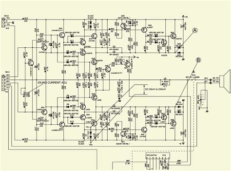 electro help yamaha yst sw800 subwoofer schematic circuit diagram