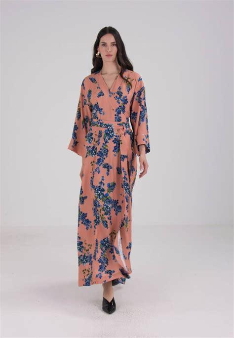 IVY u0026 OAK KIMONO DRESS - Maxikleid - rose - Zalando.de