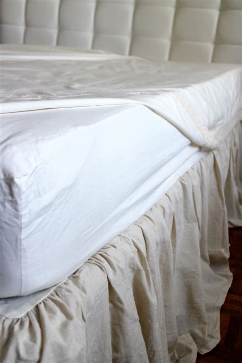 38269 king size bed skirts items similar to king size muslin