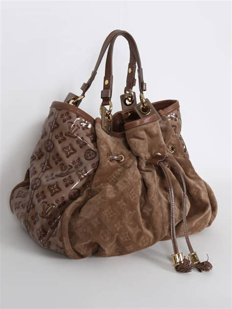 louis vuitton irene limited edition suede bag coco luxury bags
