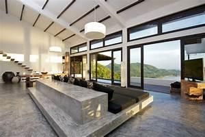 beton cire 50 idees d39amenagement interieur With idee d amenagement interieur