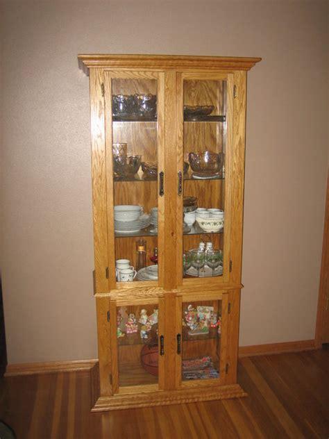 oak corner curio cabinet oak corner curio cabinet by gswoodworker lumberjocks