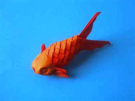 Origami Scaled Fish Youtube