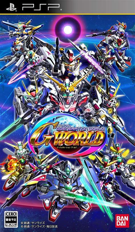 Sd Gundam G Generation World Psp Rom And Iso Download