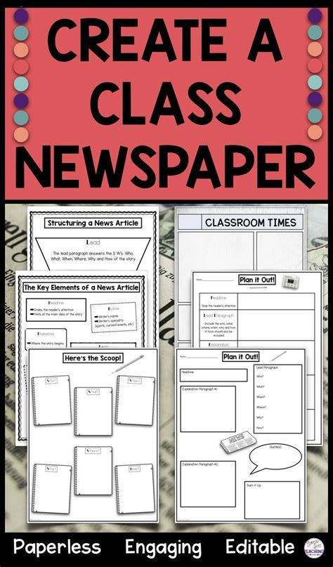 Creating a classroom newspaper just go easier! This ...