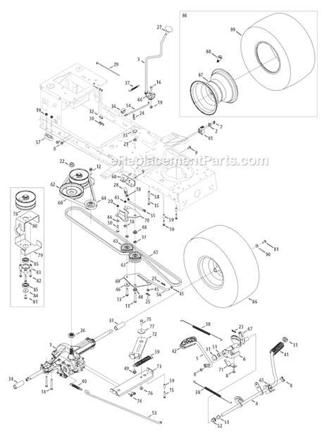 troy bilt bronco drive belt diagram troy bilt 13ax78ks011 parts list and diagram bronco