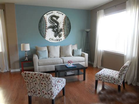 home decor wall chicago white sox handmade distressed wood sign vintage