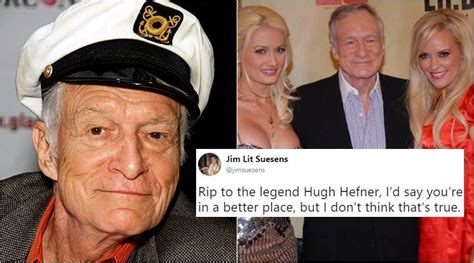 Hugh Hefner dies at 91; condolences pour in for the ...