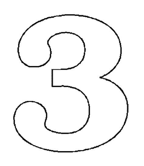 le miffy grand modele coloriage 224 imprimer chiffres et formes chiffre trois num 233 ro 2925