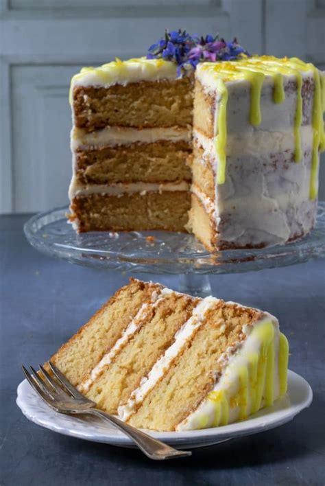 easy vegan lemon cake veggie desserts
