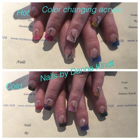 color changing acrylic nails color changing acrylic nail gallery